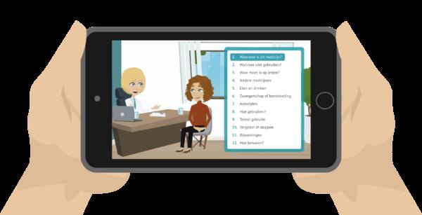 Kijksluiter, digitale bijsluiter voor al uw patiënten